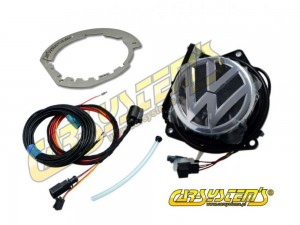VW Rear Emblem Camera KIT - Retrofit - NEW Polo 6C + Adapter