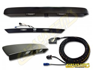 VW Multivan 7E0 / Transporter T5 T6 - Rear Low Line Camera With Handle Bar - SET
