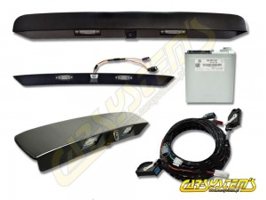 VW Multivan 7E0 Rear HighLine Camera KIT - 7E0907441 With Handle Bar