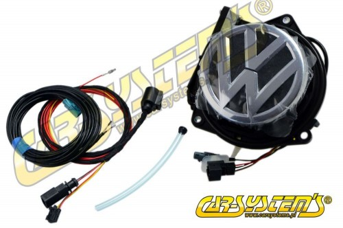 VW Rear Emblem Camera KIT - Retrofit - Golf Sportsvan - 510827469B FOD
