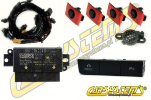 Seat Leon 5F - Park Pilot Front w. OPS - 5Q0919294 - UPGRADE KIT
