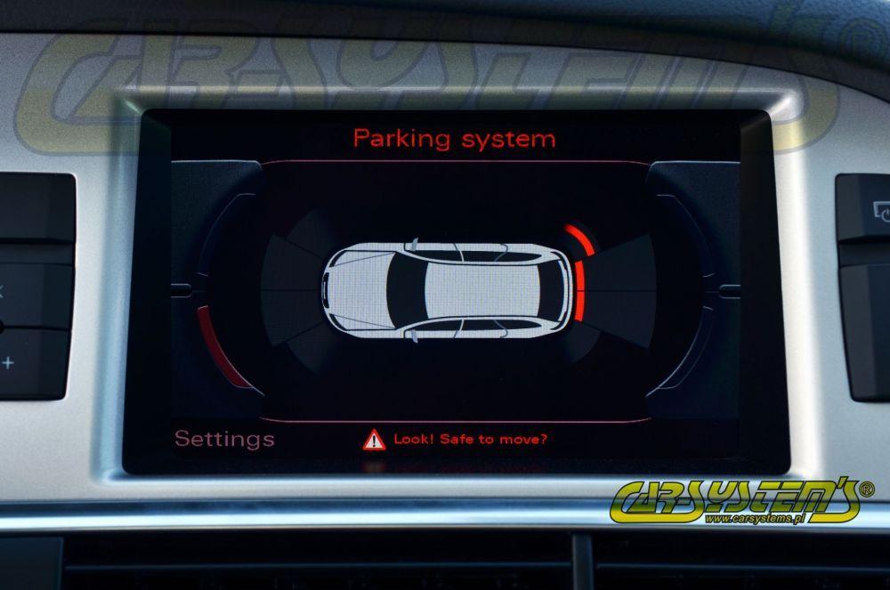 Audi A6 4F0 - APS+ Audi Parking System - Front Retrofit