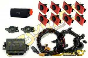 Audi A6 4F0 - APS+ Audi Parking System - Front & Rear w. OPS