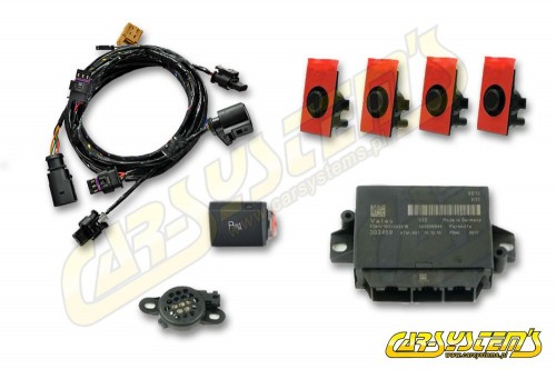 Audi A3 8P  - APS+ Audi Parking System -  Front UPGRADE w. OPS