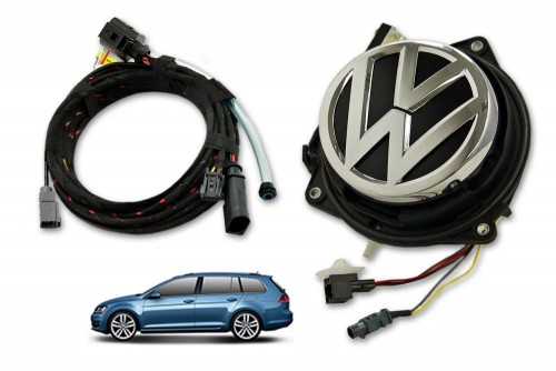 VW Rear Emblem Low Line Camera KIT - Golf 7 VARIANT - 5G9827469
