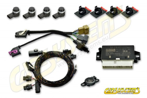 VW Passat B7  - Park Pilot Front w. OPS - UPGRADE KIT