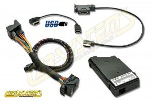 Skoda MEDIA-IN - MDI KIT + USB adapter - Retrofit - for cars w. AUX input  - 5N0035342E