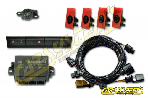 Audi A3 8P  - APS+ Audi Parking System -  Front UPGRADE w. OPS - From 2010 MY -->