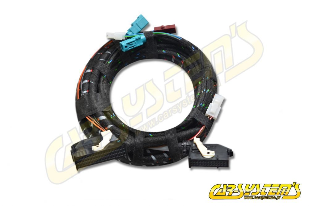 VW EOS - P&P wiring harness for Rear Emblem High Line Camera ... Wire Harnesses Being Emblem on