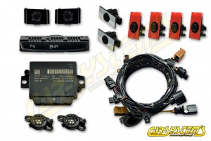 Audi A4 B8 / 8K - APS+ Audi Parking System - Front & Rear w. OPS - for cars with Concert Radio