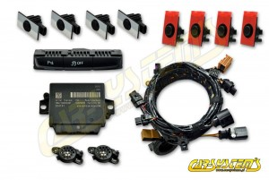 Audi A5 / S5 - APS+ Audi Parking System - Front & Rear w. OPS - for cars with Concert Radio