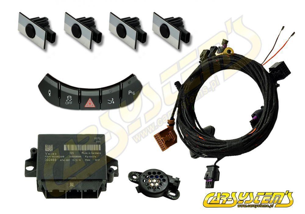 Audi TT 8J - PDC - Park Pilot Front Upgrade Kit w  OPS