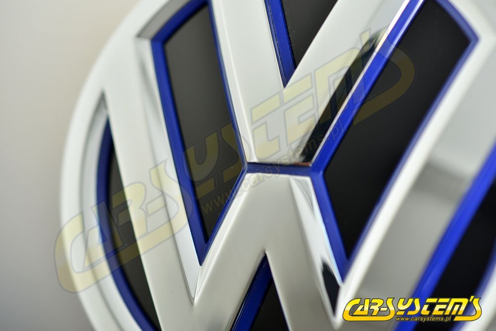 VW Rear Blue Emblem Camera KIT - Retrofit - Golf GTE MK 7