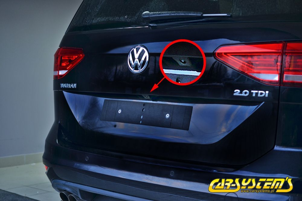 New vw touran high line rear view camera with guidance lines new vw touran 2015 high line rear view camera kit with guidance lines asfbconference2016 Image collections