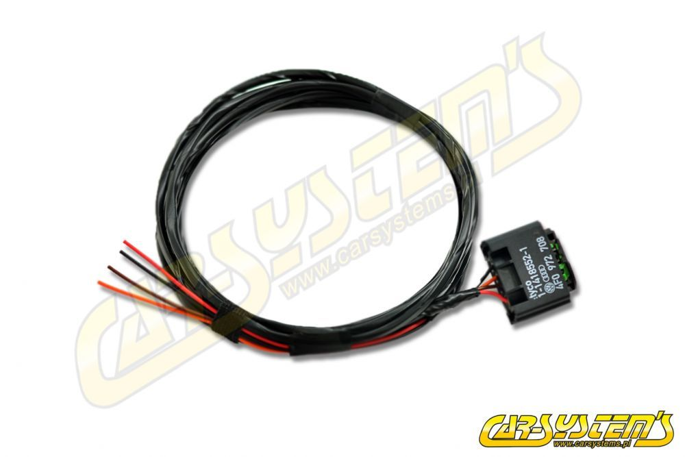 VW Golf 7 - Wiring set ACC Automatic Distance Control - Retrofit Automatic Wiring on