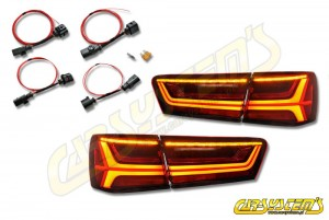 New Audi A6/RS6 Avant - 4G0 - Dynamic LED Tail Lights - Plug&Play + Adapter Set