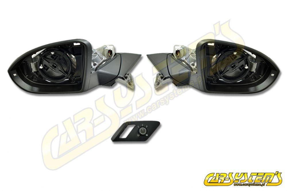 VW Golf Mk7 Complete Set Electric Folding Mirrors - Retrofit -