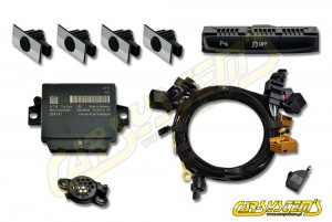 Audi A4 / S4 - APS+ Audi Parking System - Front Retrofit - for cars with Concert Radio -  BCM - MY 2013 -->
