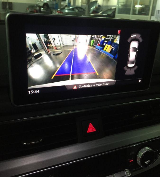 New Audi A4 B9 8W0 Sedan Rear HighLine Camera KIT