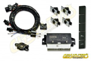 Skoda Superb 3 - 3V0 - Park Pilot Front w. OPS - 5Q0919294 - 3V1927132Q - UPGRADE KIT