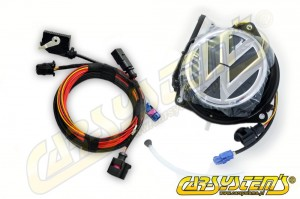 VW Rear Emblem Camera KIT - Retrofit - Golf 6 - 5K0827469AQ ULM