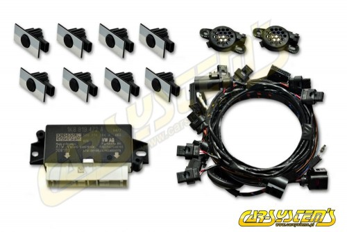 New VW CC - 3C - 2015 - Park Pilot Front and Rear w. OPS - 1K8919472