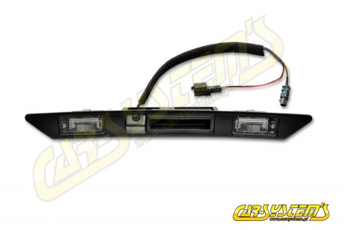 Audi Q7 GENUINE Handle Bar License Plate Light Trim Assembly with integrated Camera - 4L0980551D