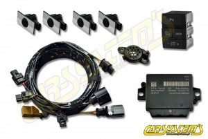 Audi Q7 4L0 - APS+ Audi Parking System - Front Upgrade KIT w. OPS