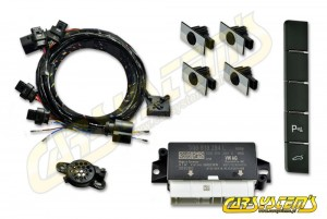 Skoda Superb 3 - 3V0 - Park Pilot Front w. OPS - 5Q0919294 - 3V2927132Q - UPGRADE KIT