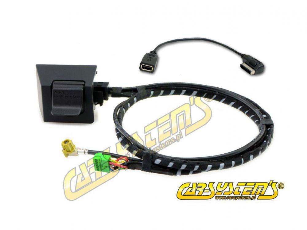 Audi A6 4G0 MMI 3G AMI + USB adapter - Retrofit