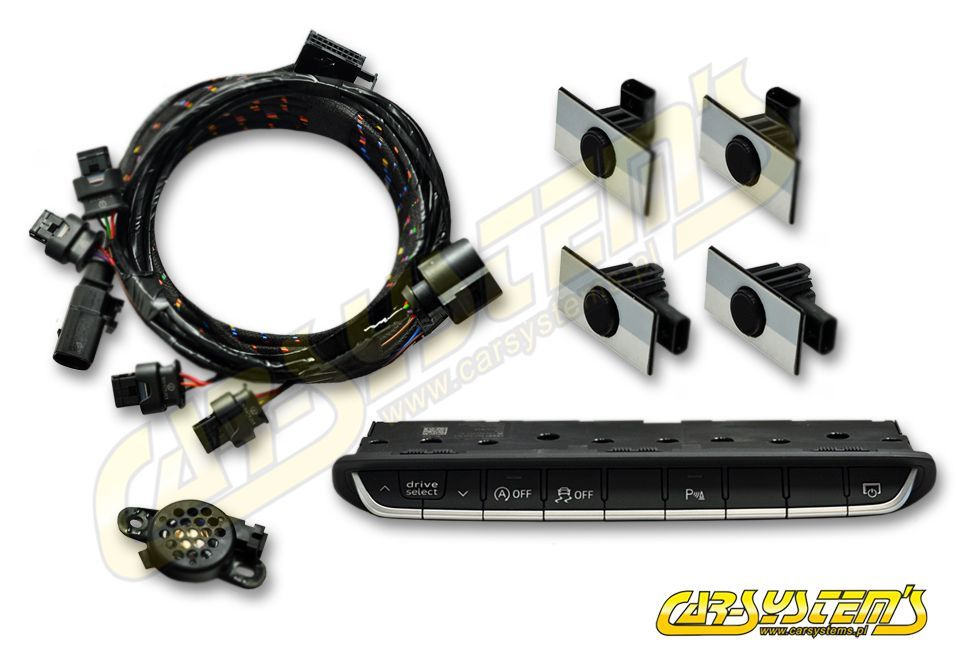 Audi A4 B9 - APS+ Audi Parking System - Front UPGRADE KIT w  OPS