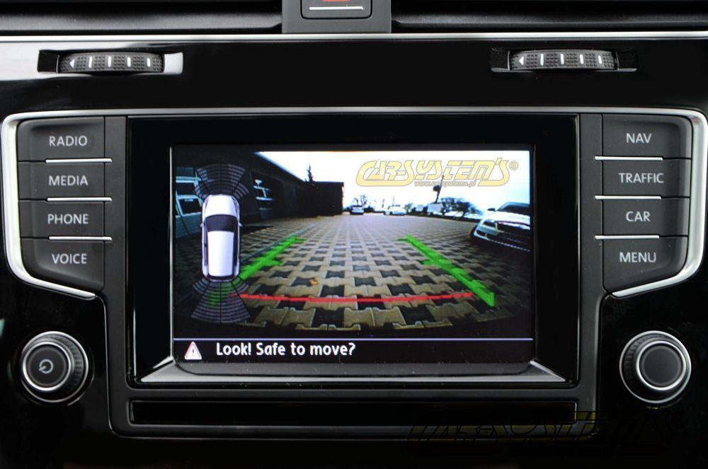 New Seat Ateca Low Line Rear View Camera With Guidance