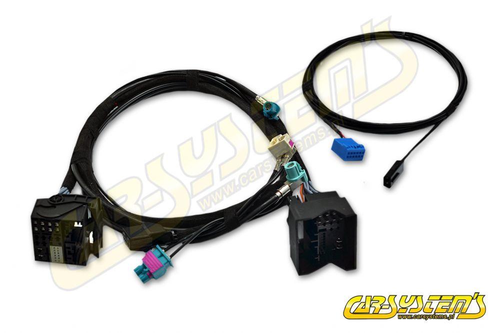 vw golf 7 5q0 - cable set conversion radio -> discover pro