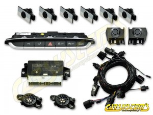 New - Audi TT-  8S0 - APS+ Audi Parking System - Front & Rear KIT w. OPS  - 1RR Sensor Holder - 5Q0919294 - For UK and RHD