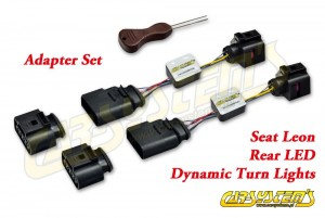 Seat LEON 5F - Dynamic Tail Lights LED Adapter Kit - Rear LED Dynamic Turn Lights