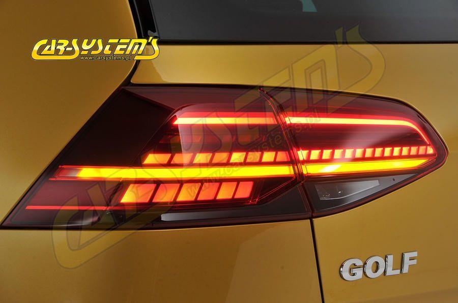 golf 7 5 facelift tinted led matrix taillights set for. Black Bedroom Furniture Sets. Home Design Ideas
