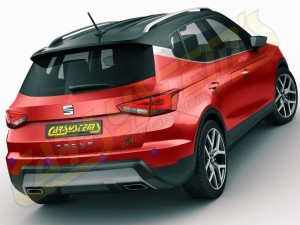 New SEAT ARONA - PDC Rear SET