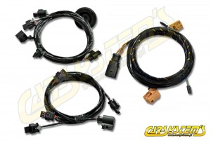 Audi A4 8K / A5 8T / A5 8F Cabrio  - Park Pilot Front and Rear w. OPS - Wire Harness
