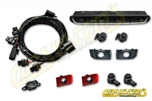 Audi  A5 F5 - APS+ Audi Parking System - Front UPGRADE KIT w. OPS