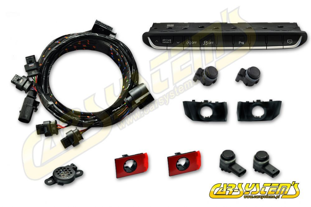 Audi A5 F5 - APS+ Audi Parking System - Front UPGRADE KIT w  OPS