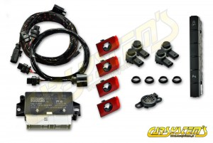 New VW POLO AW  -> Park Pilot Front w. OPS - 5QA919294B - UPGRADE KIT -