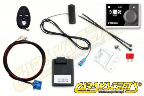 VW Multivan / Transporter T6 - Telestart  T91 + Timer Upgrade KIT - Engine Heater -> Parking Heater