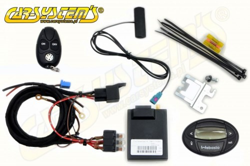 VW Transporter / Multivan  T6 with  Climatic - Telestart T91 + Timer 1533 Upgrade KIT - Engine Heater -> Parking Heater - 9012104D