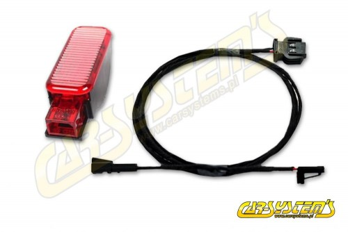 Audi A3 - 8V -  Door Lighting SET -  LED Red Light + Harness