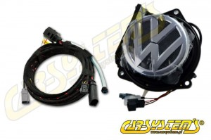 VW Golf VI Mk6 - Rear Emblem Camera KIT - Retrofit - Composite Output
