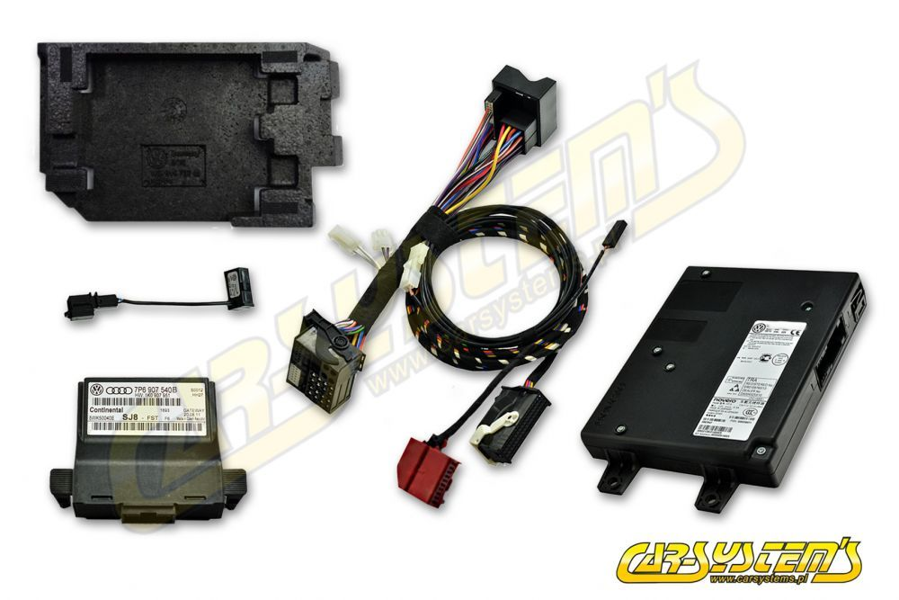 VW Touareg 7P6 Infotainment Gateway + VW Bluetooth KIT based