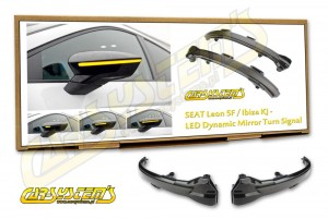 Seat LEON III 5F / Seat IBIZA KJ / ARONA - Complete Set Led Dynamic Side Marker - Retrofit Kit