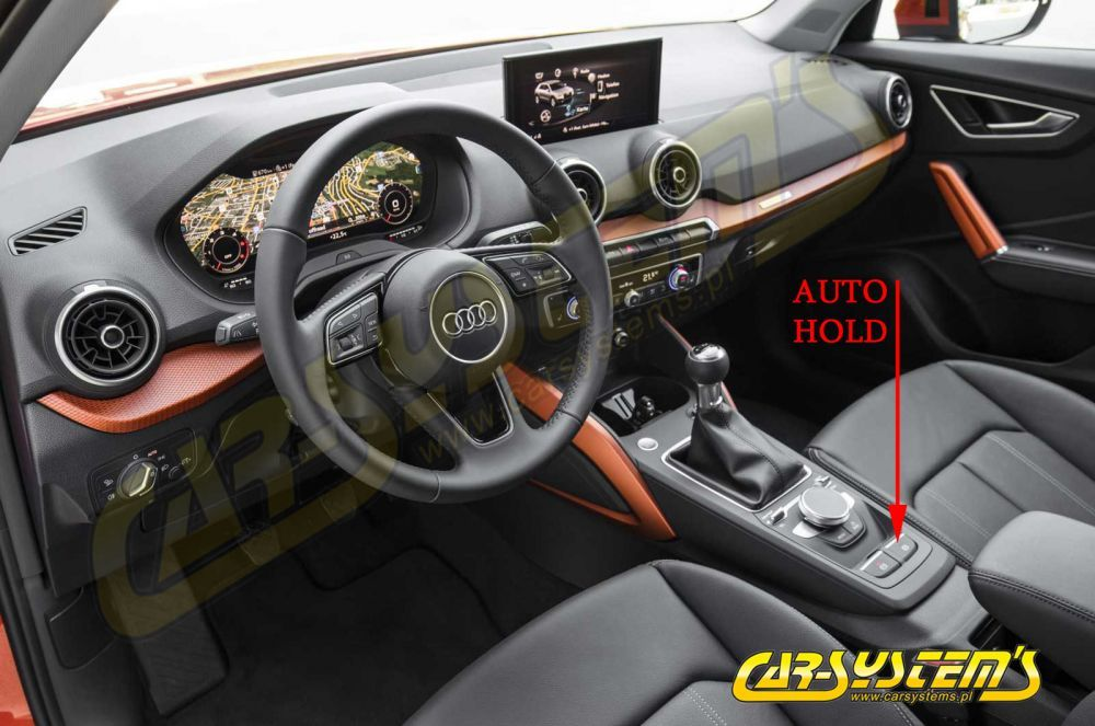 Audi Q2 Ga - Auto Hill Hold Start Assist Set