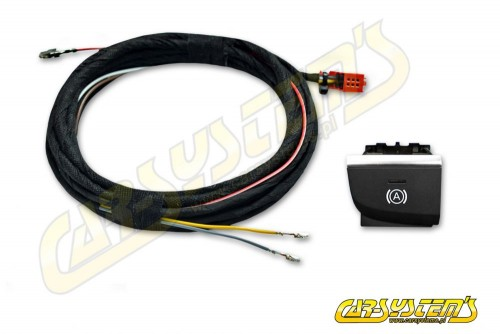 AUDI A3 8V Facelift - Auto Hill Hold Start Assist RHD SET - Wire Harness + button