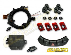 Audi R8 420  - APS+ Audi Parking System -  Front UPGRADE w. OPS